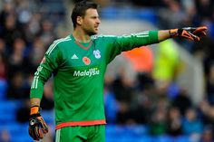 Cardiff City captain David Marshall  #CardiffCityFC