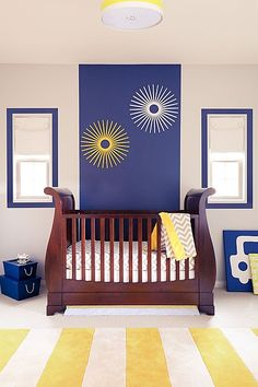 Simple, yet effective and adorable! #Kids #Bedroom; Little Crown Interiors