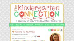 The Kindergarten Connection | blog design