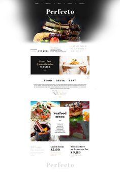 Website Theme , Italian Restaurant