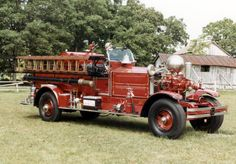 ◆Napoleon, OH FD 1929 Ahrens-Fox 1000 GPM Pumper Model N-S-4 Serial #3346◆