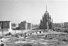 Berlin: Heilig-Kreuz-Kirche, Zossener Strasse 1960