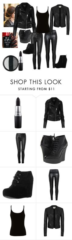 """Untitled #150"" by singingsiren39 ❤ liked on Polyvore featuring Stila, MAC Cosmetics, Topshop, A.L.C., Burberry, even&odd, Lipsy, Reiss and ALDO"