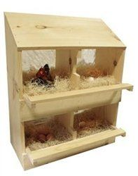 Chicken Nesting Boxes for Sale- 4 Hole:Amazon:Pet Supplies