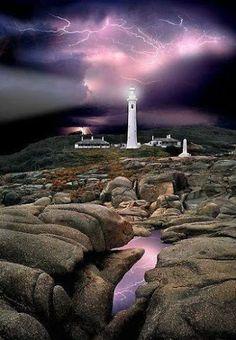 Amazing Lightning at the Lighthouse Hicks Point Lighthouse - Australia Google+