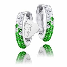 Marshall Crystal Huggie Hoop Earrings-so sparkley and nice!