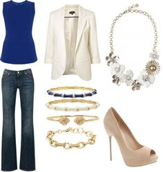 """""""Casual night out #sdNightOut"""" by mmyles on Polyvore. Jewels available at www.stelladot.com/meganm"""