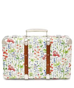 Flowers of Liberty Theodora Liberty Print Mini Suitcase | Home Accessories | Liberty.co.uk