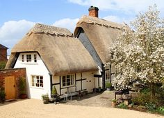 Pollyanna Cottage in Birlingham, Worcestershire, UK.