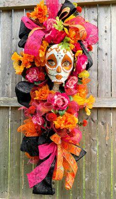 Tulle Wreath, Mesh Wreaths, Trendy Tree, Deco Mesh, Burlap, Halloween, Fall, Hot, Decor