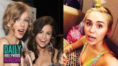 Taylor Swift & Selena Gomez Feud TRUTH - Miley Cyrus Weird Art Show NYFW...