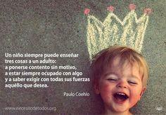 La sabiduría de los niños...