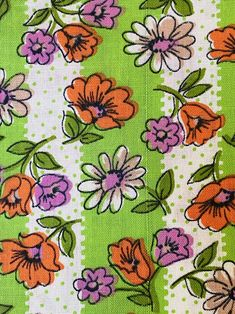 """14/"""" Cushion Cover Funky 1950s Vintage Retro Style Pink Yellow Brown Blue 14 x 14"""