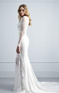 Featured Dress: Pallas Couture; Wedding dress idea.