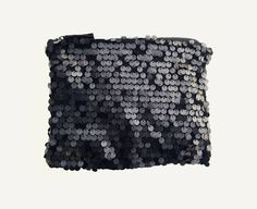 Love it! Black Disc Sequined Matte Clutch from Mezay ugbo