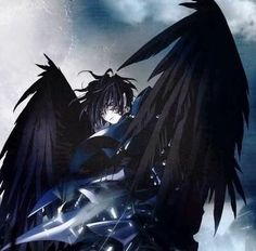 Please visit our website to support us! Ange Anime, Anime Angel, Anime Demon, Vampires, Demon Wings, Daddy, Female Drawing, Angel Aesthetic, Wattpad