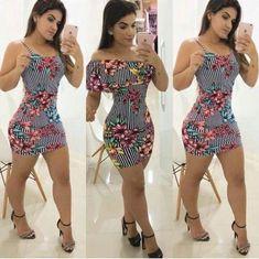 image Sexy Dresses, Dress Outfits, Short Dresses, Fashion Dresses, Girls Dresses, Cute Outfits, Sexy Curves, Sexy Legs, Ideias Fashion