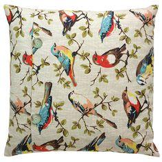 Cath kidston garden bird cushion