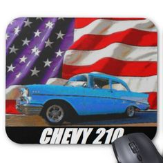 1957 Chevy 210 Mouse Pad