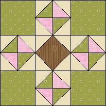 Quilt-Pro Systems - Block of the Day Archive - Test Page Quilting Templates, Quilting Projects, Quilting Designs, Barn Quilt Patterns, Pattern Blocks, Half Square Triangle Quilts, Square Quilt, Mug Rug Tutorial, Geometric Quilt
