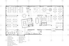 Jelly Button Games and Hamutzim Studio / Roy David Studio/office Open Office Design, Office Interior Design, Office Interiors, Interior Decorating, Interior Sketch, Office Layout Plan, Office Floor Plan, Studio Floor Plans, Button Game