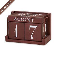 Kirkland's: Rustic Tabletop Calendar
