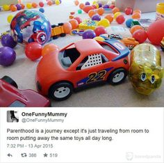 """Twitter Parents Answer The Age Old Question, """"What Is It Like To Be A Parent"""" – 18 Pics"""