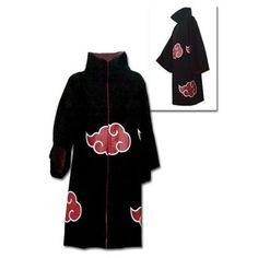 Naruto Shippuden Akatsuki Cloak Cosplay Coat $76
