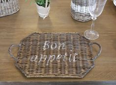 k-80024a Rattan, Picnic, Basket, House Styles, Garden, Baskets, Home Decor Accessories, Trays, Cottage Chic