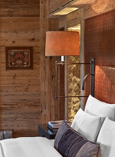 The Alpina Gstaad, Switzerland, interior designed by HBA/Hirsch Bedner Associates