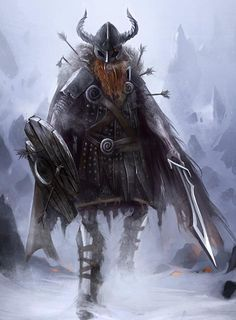 Draugr.  Norse walking dead.  Magic Gifts