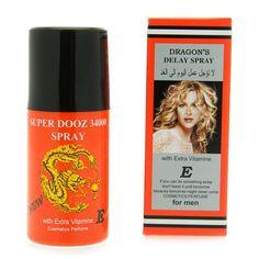 5 Wholesale lot X Dragon's 34000 Delay Spray for Men - Last Longer Safe Sex