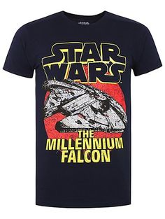 2096ca066f4ba Emblazoned with a faded Millennium Falcon graphic