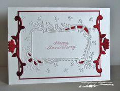 Ruby Wedding card.