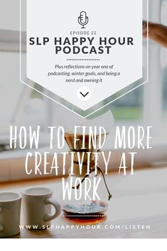 This podcast episode covers: lessons learned in the first year of podcasting, winter goals, and creativity in the SLP profession. #slpeeps #speechtherapy