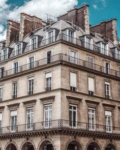 """""""We shape our buildings; thereafter they shape us"""". A throwback to my trip to Paris during the summer during which I discovered the language of architecture. Full post can be read on @dvsncollective #DVSN"""