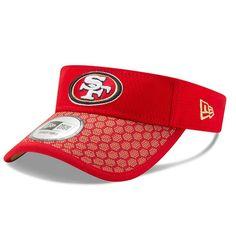 San Francisco 49ers New Era 2017 Sideline Official Visor - Scarlet