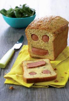 Cake Knacki® bonhomme : la recette facile