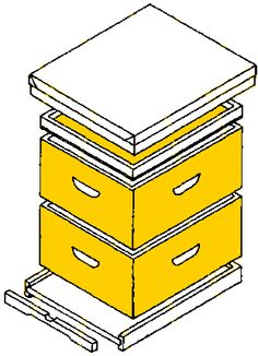 several plans for building bee hives several plans for building bee hive Raising Bees, Raising Chickens, Planting Zones Map, Building A Beehive, Honey Extractor, Honey Bee Hives, Honey Bees, Bee Hive Plans, Bee Creative