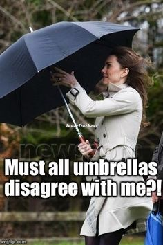 Not the Royal of Umbrellas