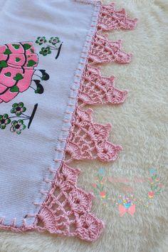 Crochet Borders, Crochet Motif, Crochet Designs, Crochet Lace, Crochet Stitches, Crochet Patterns, Creative Embroidery, Towel Set, Pot Holders