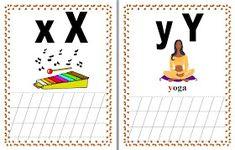 JUCARII PENTRU COPII: ALFABETUL IN IMAGINI Kids And Parenting, Activities, Rome, Bebe, 1st Grades