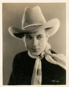 Myrna Loy's friend from Montana, Frank Cooper--later Gary Cooper. This is what he looked like when he played cowboy extras for $7 a day.