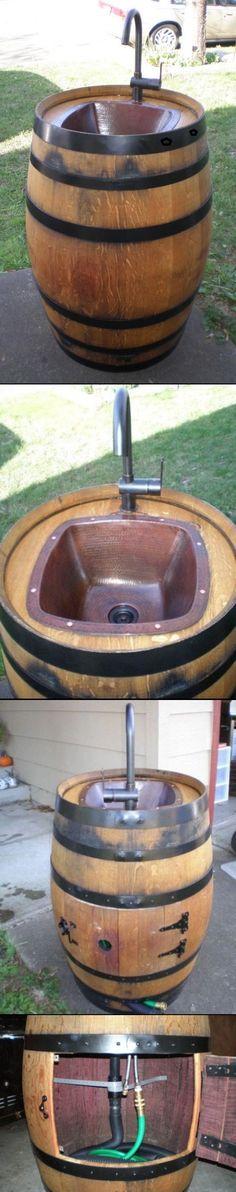 DIY ideas using an old Barrels
