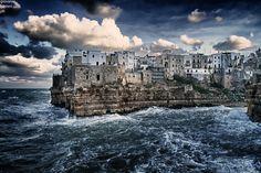 Mare in tempesta - Polignano a Mare