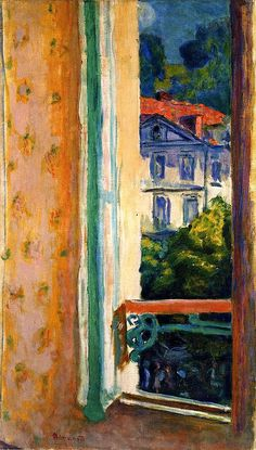 Window in Uriage Pierre Bonnard - 1918