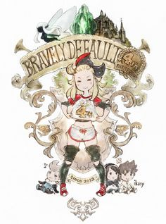 Bravely Default is four years old? ⊟What is happening to linear time? How is it already four years since this game? Anyway, Square Enix teased some news coming soon, along with this commemorative image, so… Bravely T maybe? Bravely Default, Character Art, Character Design, Fanart, Pokemon, 4th Anniversary, Mario And Luigi, Pastel Drawing, Fire Emblem