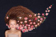 Цветы ручной работы  Цветы в волосах