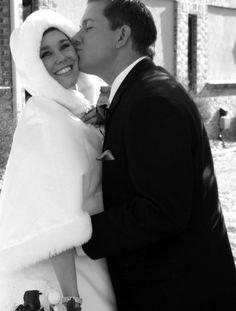 winter wedding I love this!!!