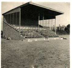 Bata Sports Field East Tilbury Grandstand under construction, later opened June 25th 1938 by MD Viktor Schmidt